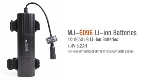 Magic Shine MJ-6096 Battery Pack 7.4v 5.2Ah