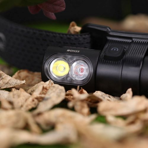MOH 25 Headlamp 500 Lumen Front