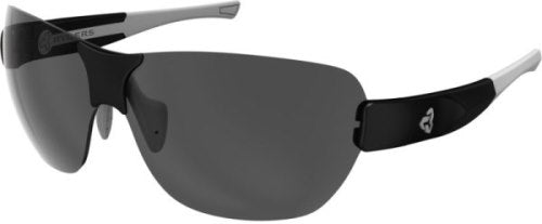 Ryders Airsupply Anti-Fog Glasses Black-Grey / Grey Lens Anti-fog