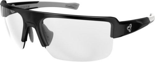 Ryders Seventh Anti-Fog Glasses Black-Grey / Clear Lens Anti fog