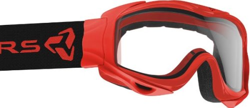 Ryders Shore Goggle Red / Clear Double Lens