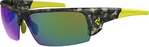 Ryders Caliber Standard Lens Camo-Yellow Matte / Brown Lens Green