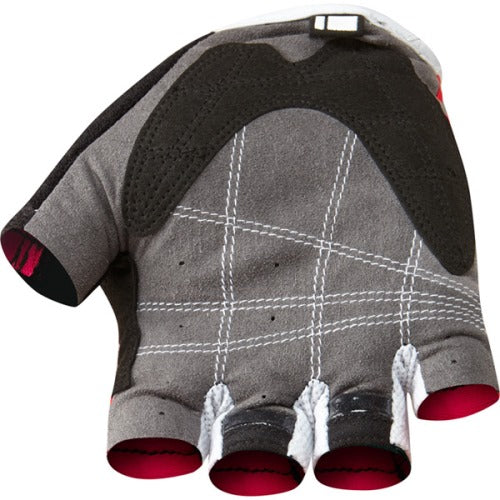 Madison Track Mens Red Mitts Rear