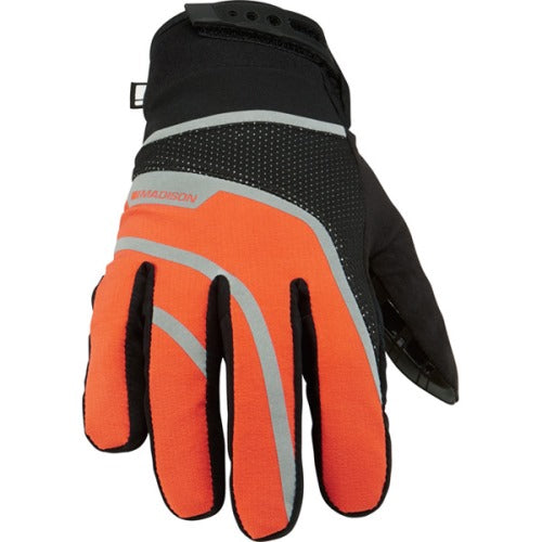 Madison Avalanche Mens Orange/Black Glove