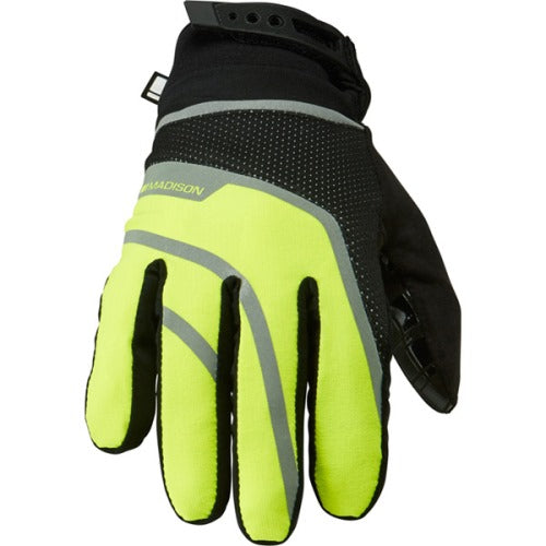 Madison Avalanche Mens Hi-Viz Yellow Glove