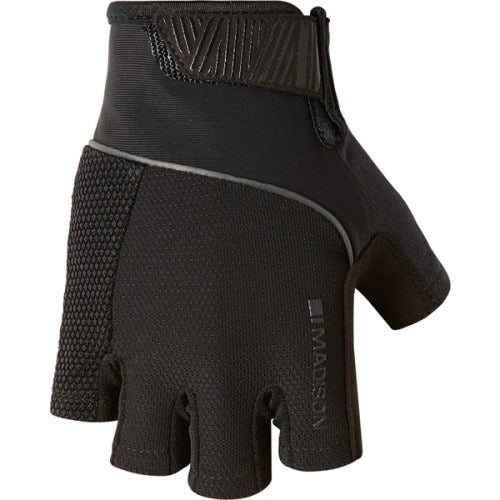 Madison Sportive Mens Black Mitts Front