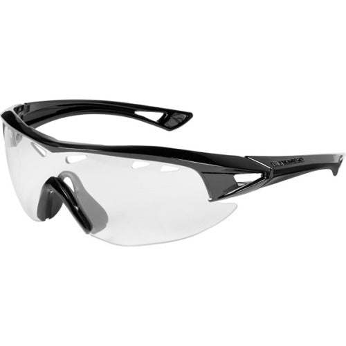 Madison Recon Glasses Gloss Black Frame - Clear Lens