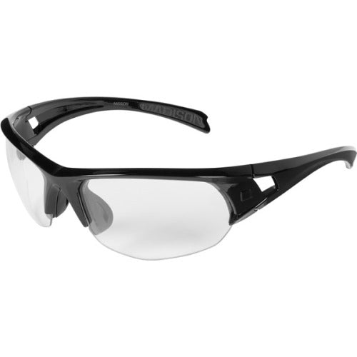 Madison Mission Glasses Gloss Black Frame - Clear Lens