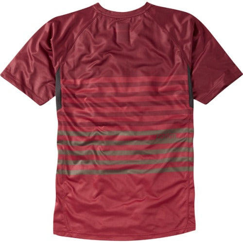 Madison Roam Mens Red/Red Short Sleeve Jersey Rear