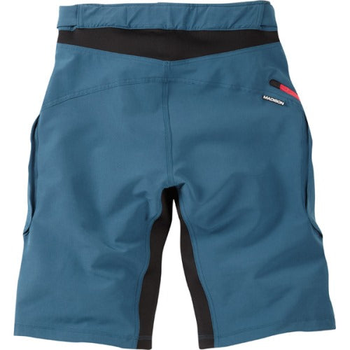 Madison Zenith Atlantic Blue Mens Shorts Rear