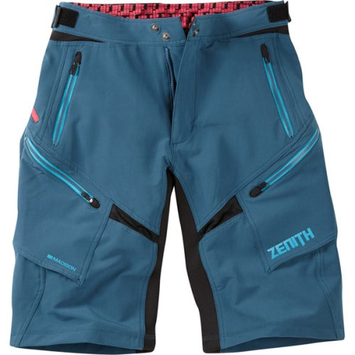 Madison Zenith Atlantic Blue Mens Shorts Front