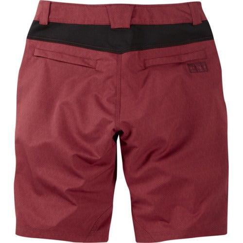 Madison Roam Mens Blood Red Shorts Rear