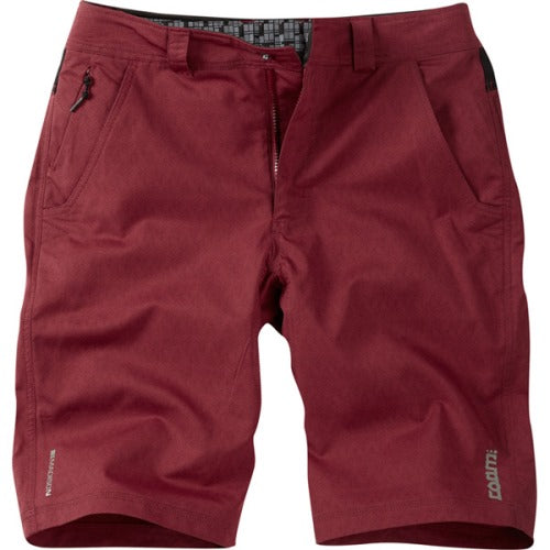 Madison Roam Mens Blood Red Shorts Front
