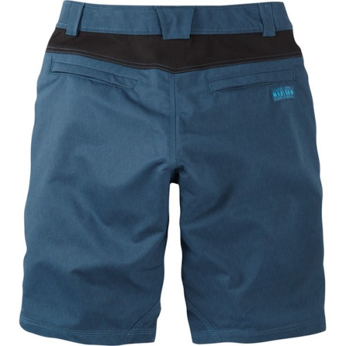 Madison Roam Mens Atlantic Blue Shorts Rear