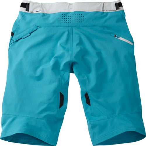 Madison Flux Womens Blue Shorts Rear