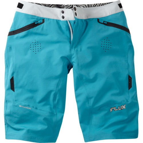 Madison Flux Womens Blue Shorts Front