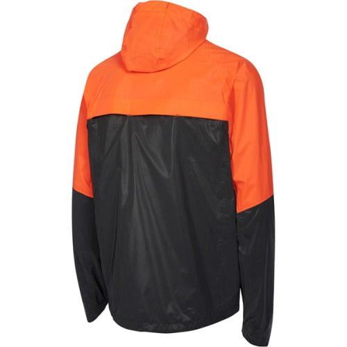 Madison Stellar Mens Reflective Black/Chilli Red Jacket Rear
