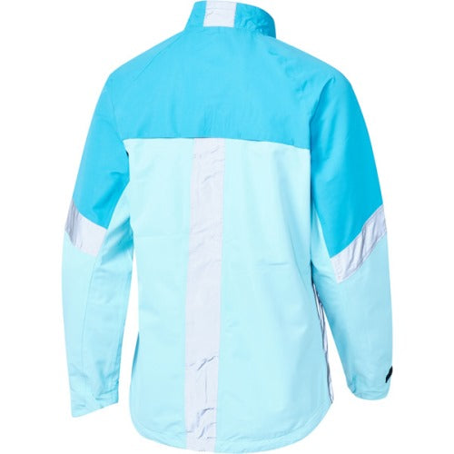 Madison Protec Womens Caribbean Blue/Blue Radiant Jacket Rear
