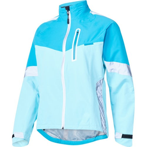 Madison Protec Womens Caribbean Blue/Blue Radiant Jacket Front