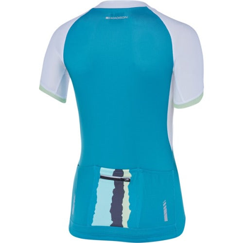 Madison Keirin Womens Short Sleeve Jersey Rear