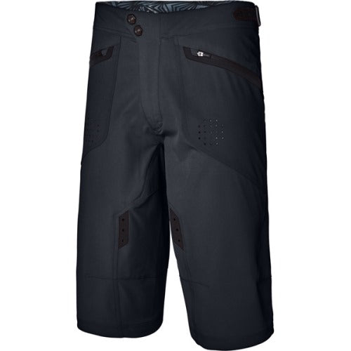 Madison Flux Mens Black Shorts Front
