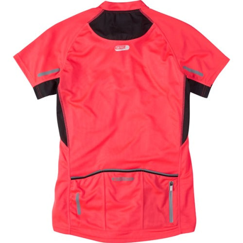 Madison Stellar Womens Short Sleeve Diva Pink Jersey Rear