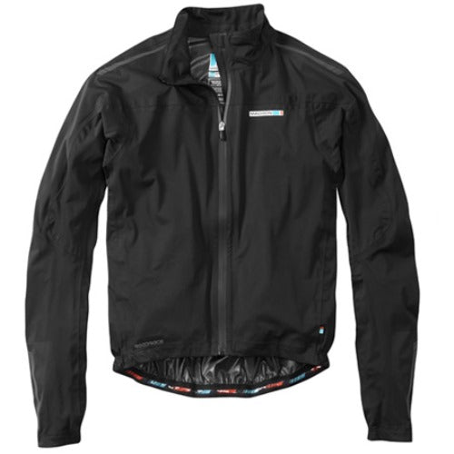 Madison Roadrace Premio Mens Black Jacket Front