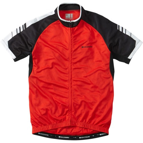 Madison Peloton Mens Jersey Red Front