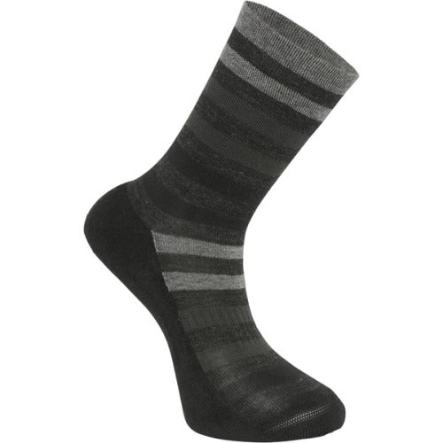 Madison Isoler Merino Black Fade Sock