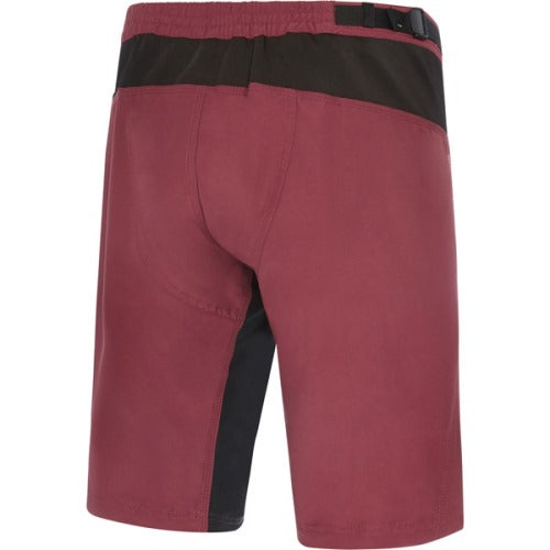 Madison Trail Womens Ink Classy Burgundy Shorts Rear