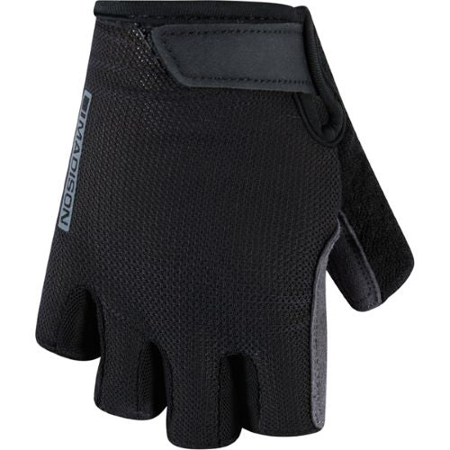Madison DeLux GelCel Womens Glove Black Front