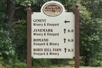 Legacy Wine Trail