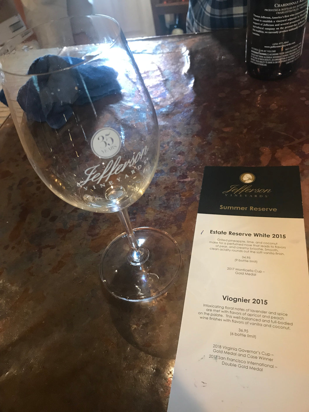 Virginia Wine Tour Package
