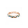 Thin Stacking Ring - Opal