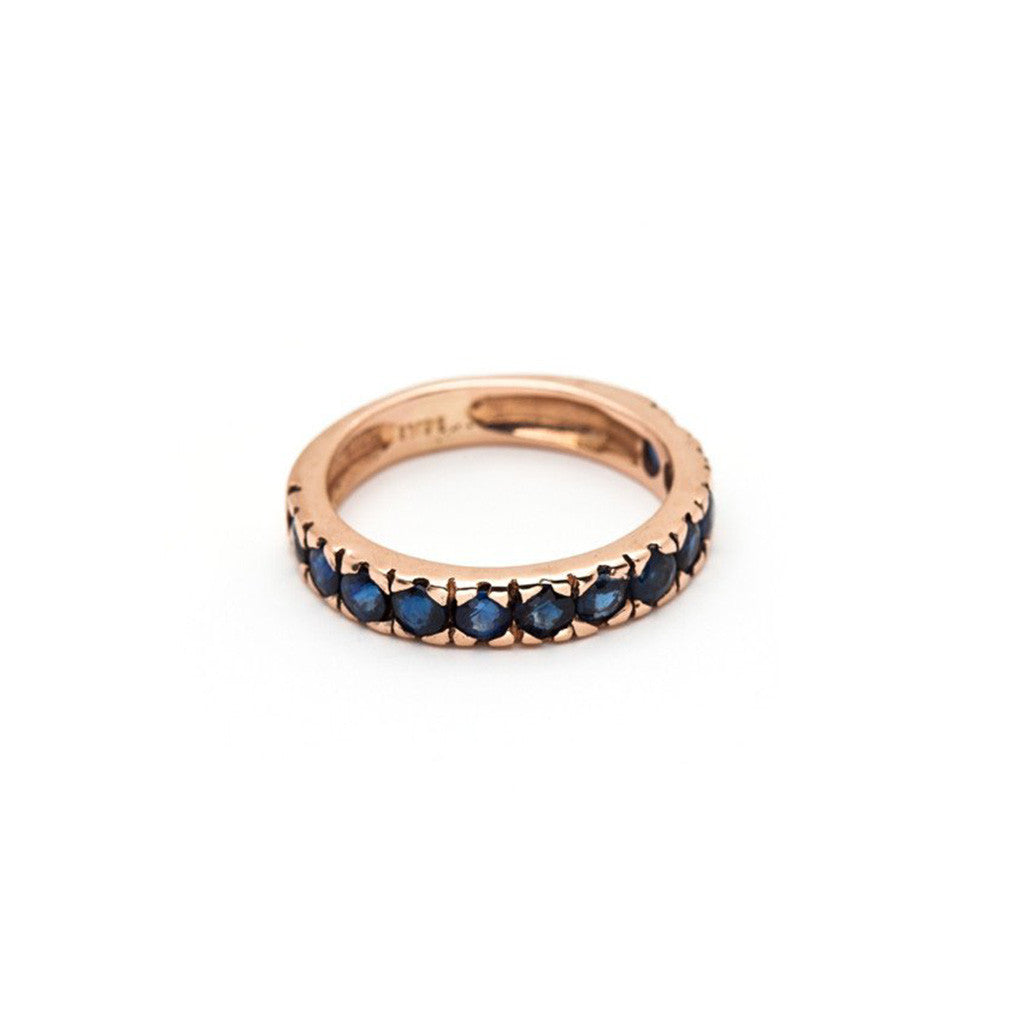 Thin Stacking Ring - Sapphire