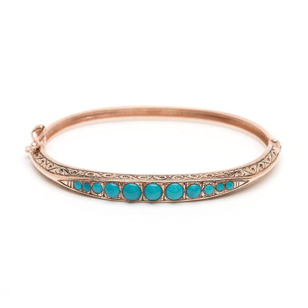 Victoria Bangle - Turquoise