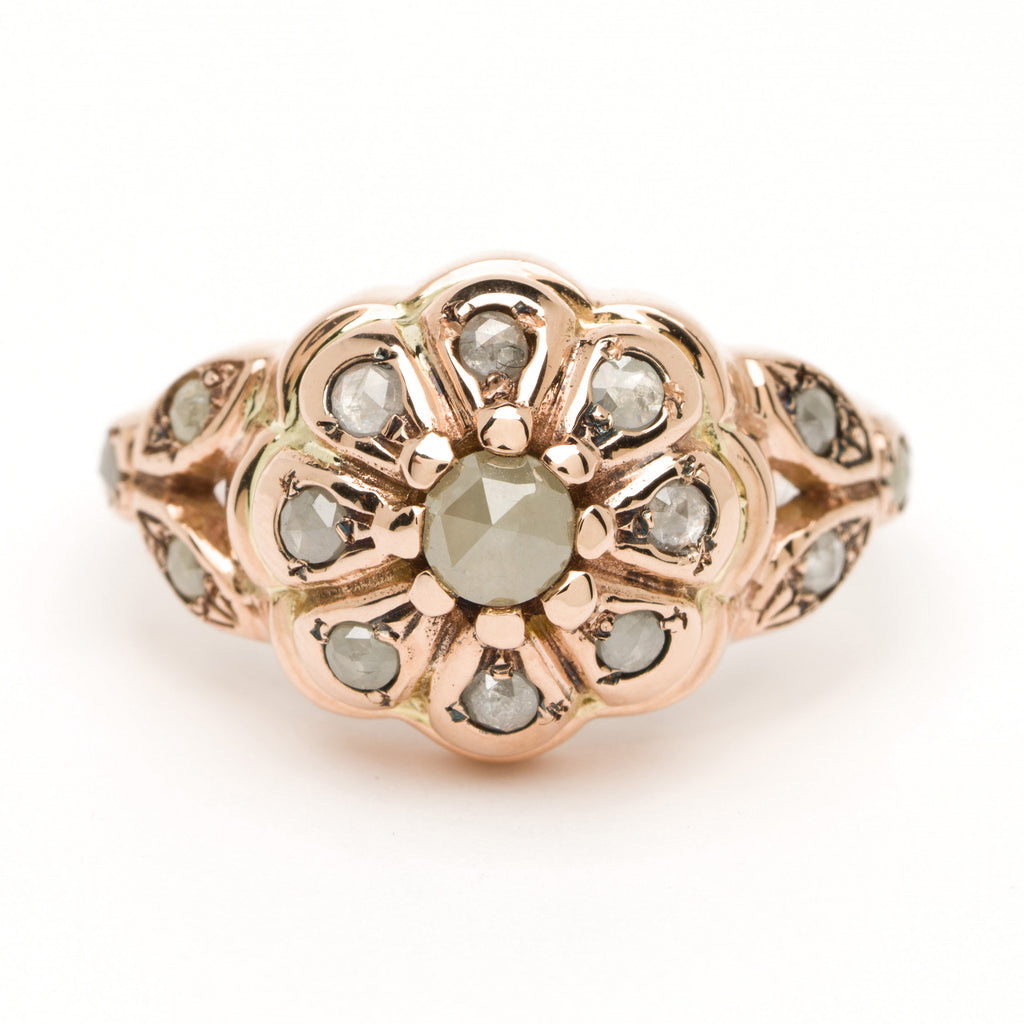Poppy Ring - Diamond