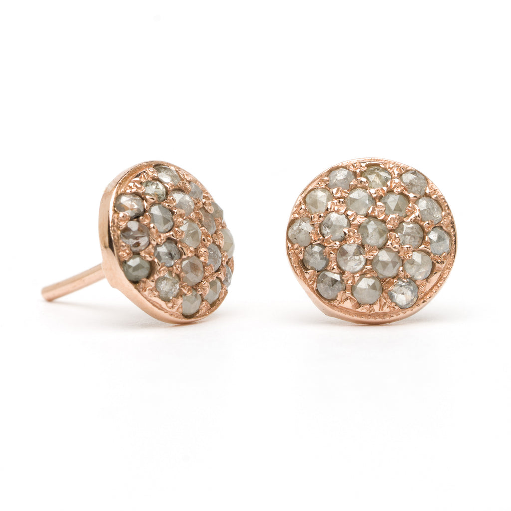 Button Studs - Diamond