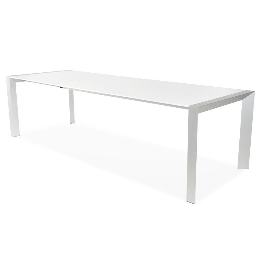Table Stretch white