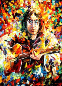 John Lennon Colors full Diamond Painting Kit - DIY
