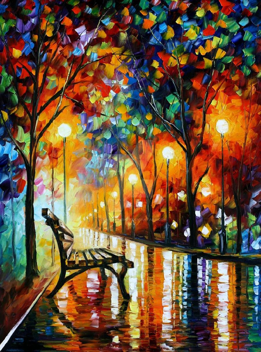 Loneliness Of Autumn Diamond Painting Kit - DIY