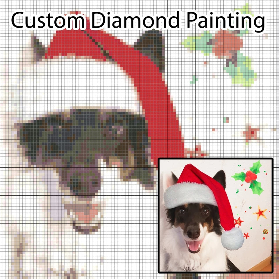 Custom Diamond Painting Kit Design