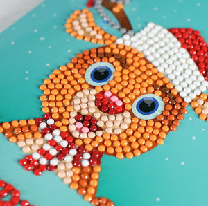 Santa Card Diamond Painting Kit - DIY