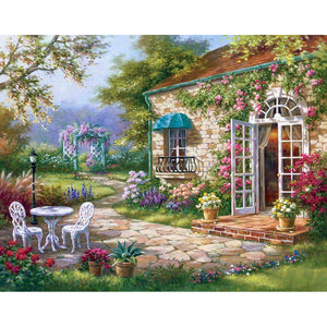 Epitome Of The Garden A Flower Diamond Painting Kit - DIY