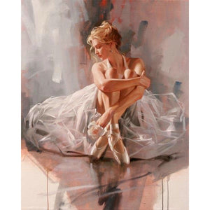 Ballet Dancer Painting Diamond Painting Kit - DIY