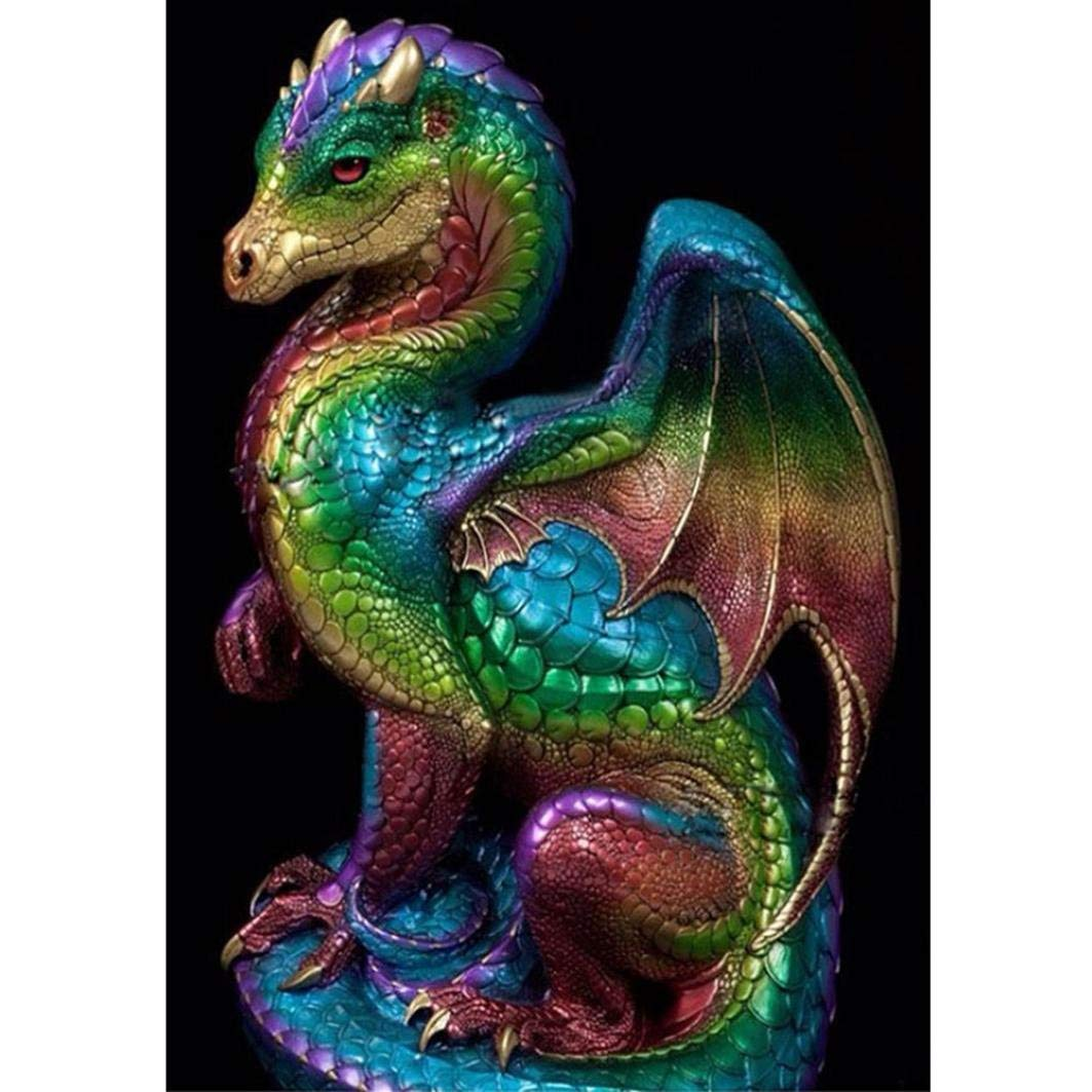 Dragon Full Colors Diamond Painting Kit - DIY
