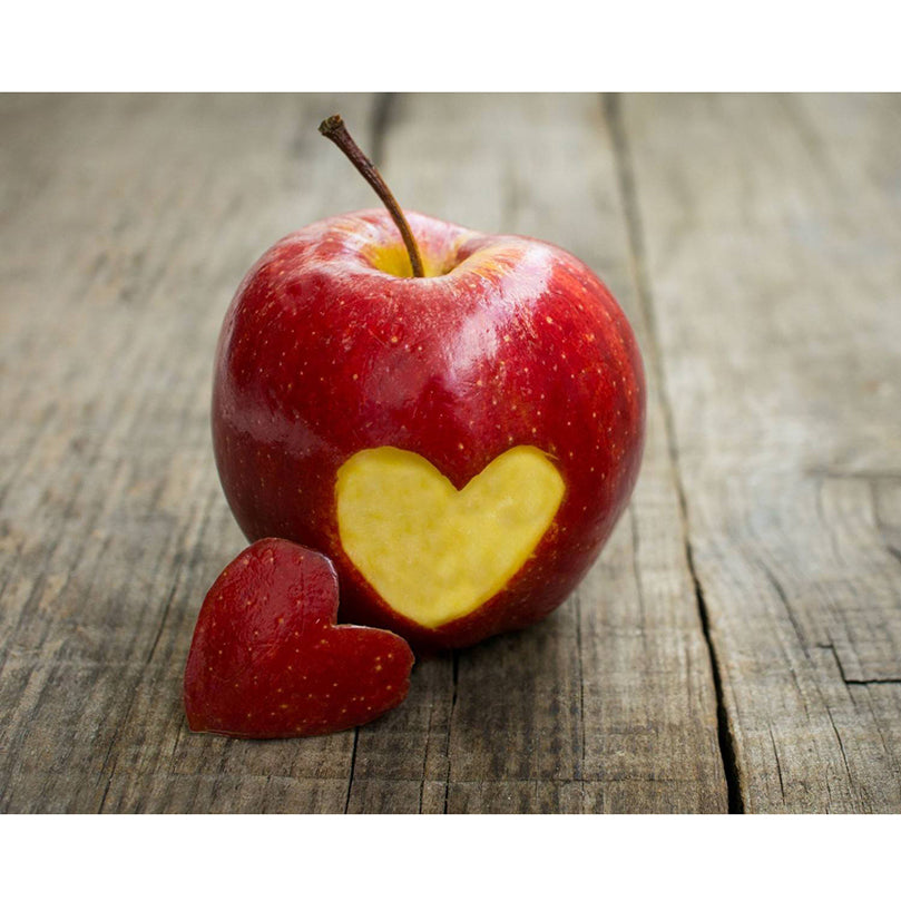 Red Apple Heart Diamond Painting Kit - DIY