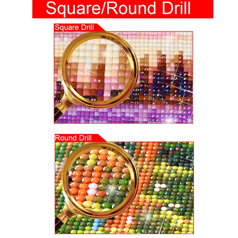 Elephant Pattern Diamond Painting Kit - DIY