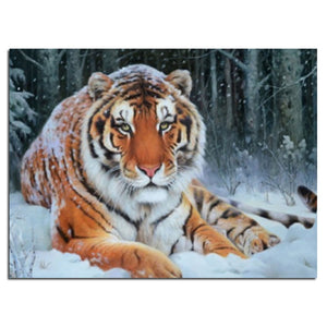 Tiger Diamond Painting Kit - DIY