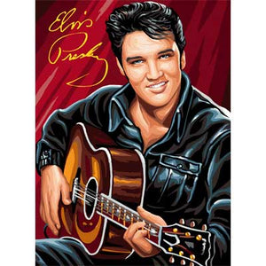 Elvis Presley Guitar Diamond Painting Kit - DIY